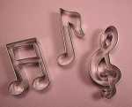 Musical Note Cutter Set Medium