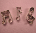 Musical Note Cutter Set Small