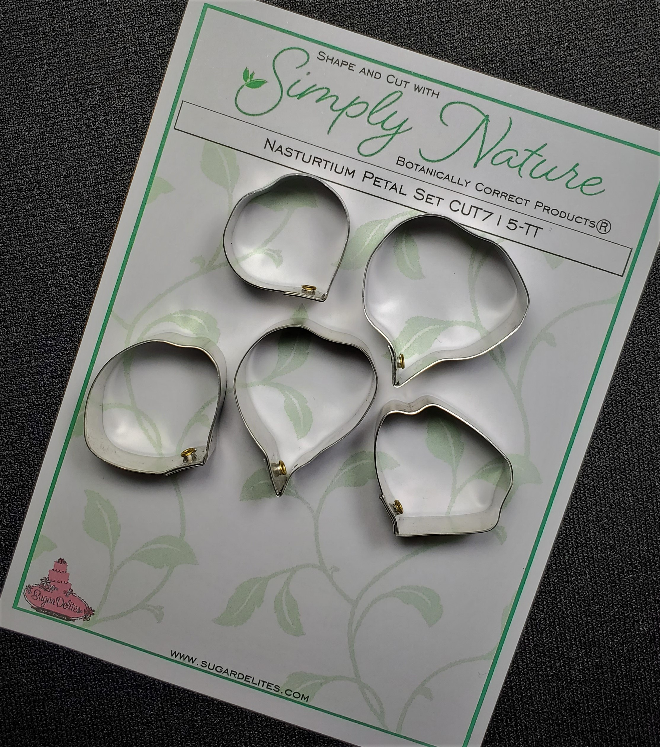 Nasturtium Petal Cutter Set By Simply Nature Botanically Correct Products®