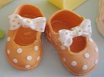 Orange Shoe Mary Jane Cutter Set