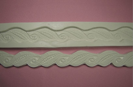 Paisley Rope Lace Border