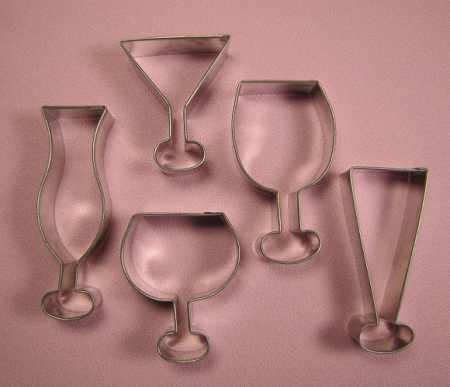 Party Glass Cutters Set of 5 #2