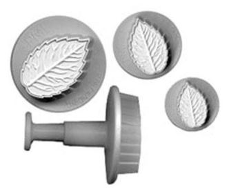 Rose Leaf Plungers (3) PME