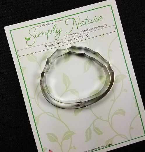 Rose Petal Cutter Set By Simply Nature Botanically Correct Products® (Stainless Steel)