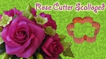 Rose Petal Cutter Scalloped