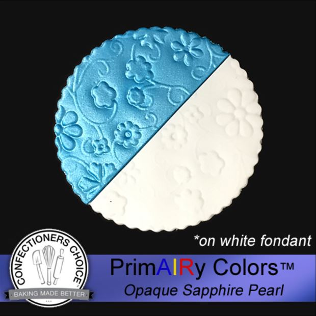 Sapphire Blue Pearl Opaque Airbrush Color 125 ml By PrimAIRy Colors