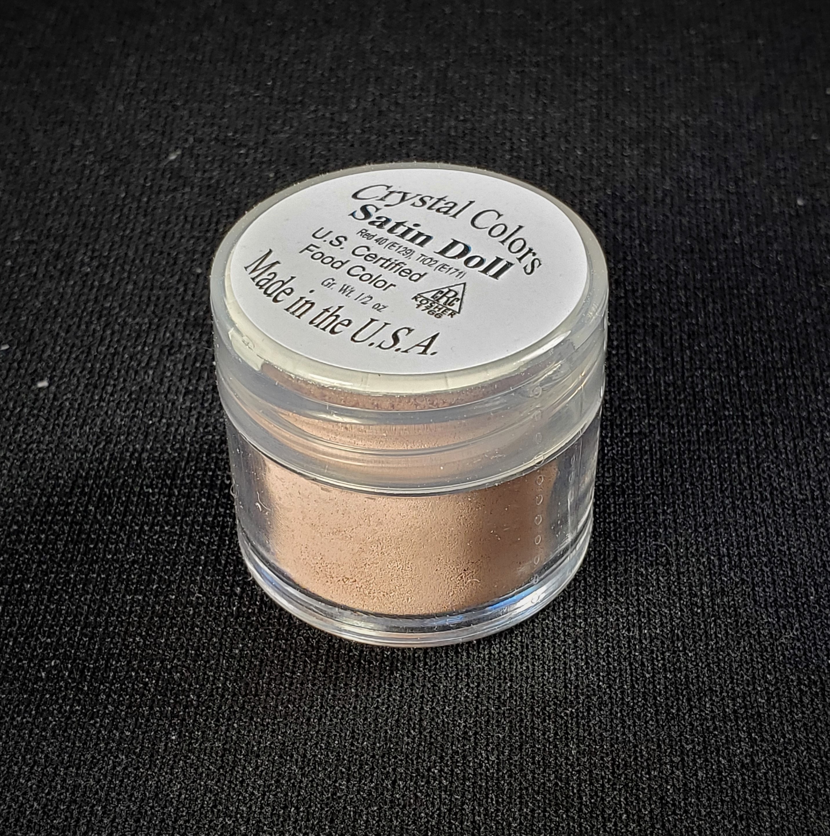 Crystal Colors Satin Doll Petal Dust