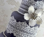 Serenity Large Sugar Dress Cake Lace Mat By Claire Bowman