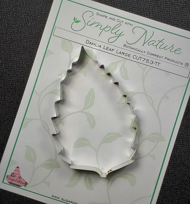 Dahlia Leaf Cutter Large By Simply Nature Botanically Correct Products®