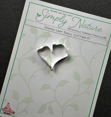 Ginkgo Leaf Cutter Small By Simply Nature Botanically Correct Products®