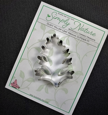 Dusty Miller Leaf Cutter Medium By Simply Nature Botanically Correct Products®