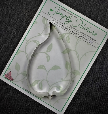 Sunflower Leaf Cutter Large By Simply Nature Botanically Correct Products®