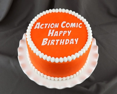 Flexabet Action Comic Happy Birthday