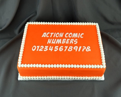 Flexabet Action Comic Numbers