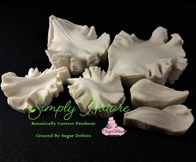 Bearded Iris Petal Veiner Set By Simply Nature Botanically Correct Products