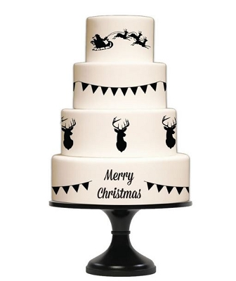 Celebration and Holiday Silhouette Mat By Silho Cake