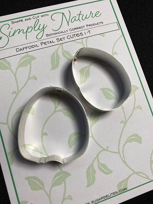 Daffodil Petal Cutter Set #1 (No Trumpet Cutter Needed) By Simply Nature Botanically Correct Products®