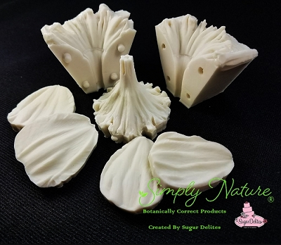 Daffodil #1 Petals and Throat Veiner Set By Simply Nature Botanically Correct Products®