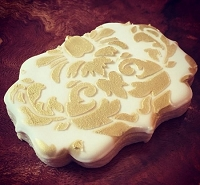 Damask Lovely Stencil