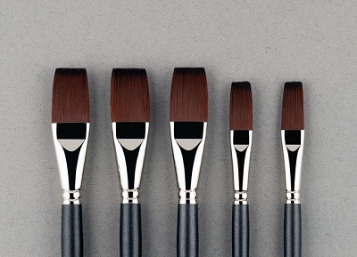 Robert Haynes Brushes - Signature Flats Set 2