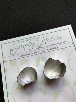 Hydrangea Petal Cutter Set (Design #1-C) By Simply Nature Botanically Correct Products