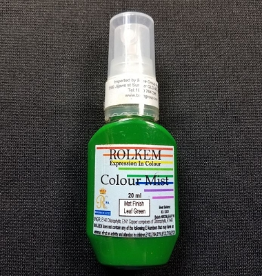 Leaf Green Matte Color Mist 20 ML By Rolkem