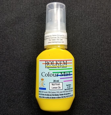 Lemon Glo Matte Color Mist 20 ML By Rolkem