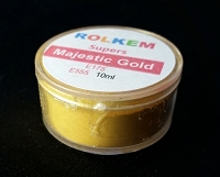 Majestic Gold Metallic Super Dust By Rolkem