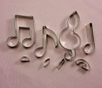 Musical Note Cutter Set Medium #2