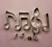 Musical Note Cutter Set Small #2