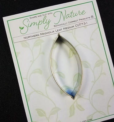 Northern Magnolia Leaf Cutter Medium By Simply Nature Botanically Correct Products®