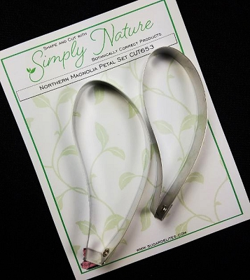 Northern Magnolia Petal Cutter Set By Simply Nature Botanically Correct Products®