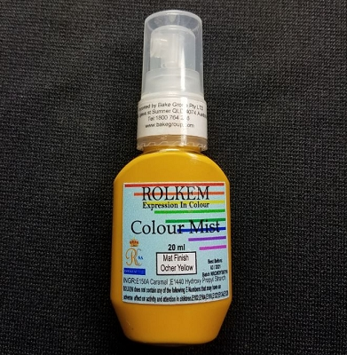 Ocher Yellow Matte Color Mist 20 ML By Rolkem