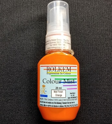 Orange Matte Color Mist 20 ML By Rolkem