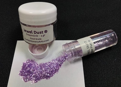 Pastel Purple Jewel Dust 4 g. By Confectionery Arts International