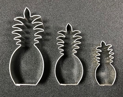 Pineapple Set of 3