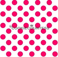 Polka Dots Medium Stencil