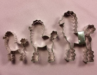 Poodle Set of 3