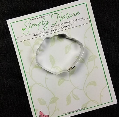 Poppy Petal Cutter Medium By Simply Nature Botanically Correct Products®