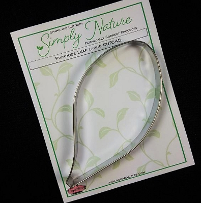 Primrose Leaf Cutter Large By Simply Nature Botanically Correct Products