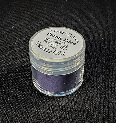 Crystal Colors Purple Eden Petal Dust