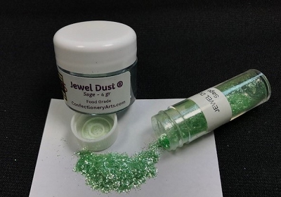 Sage Jewel Dust 4 g. By Confectionery Arts International
