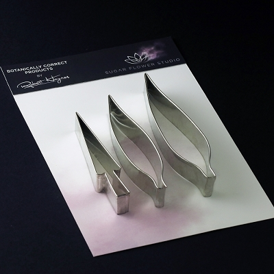 Bird Of Paradise Petal & Stamen Large Cutter Set Of 3 By Robert Haynes