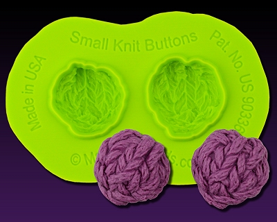 Knit Buttons Small