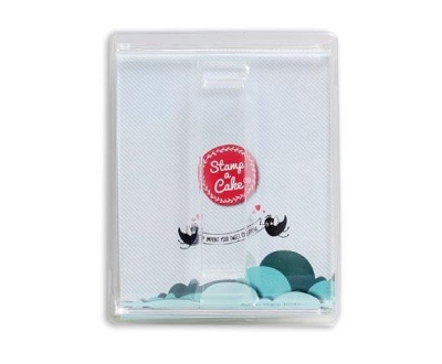 Acrylic Stamp Holder By Stamp a Cake