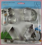 Winter Cupcake Cutters Set By AC