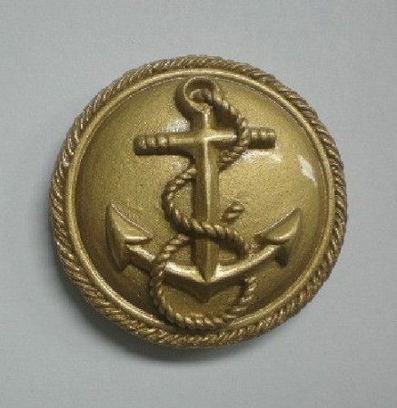 "Anchor Brooch, by Clearview Molds, measures 1 1/2"" x 1 1/2"" x 1/2""."