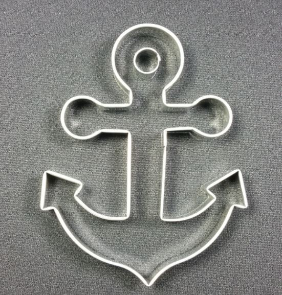 "Anchor Large, by Ximenia, measures 5 1/4"" x 3 1/2""."