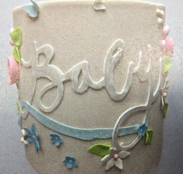 "Baby word 6 1/2""  x 4""  wide"