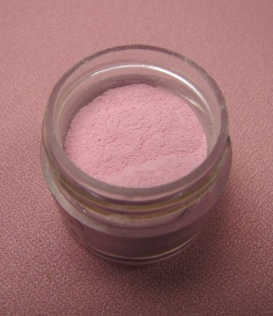 Baby Pink Petal Dust by TSA. 1/2 oz. net, Kosher. This is an FDA approved dust.